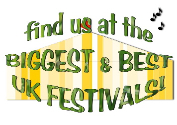 Find us at the biggest and best UK festivals