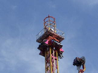 Drop Tower Ride For Hire